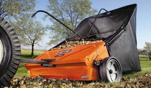 Best Lawn Sweeper for Pine Cones